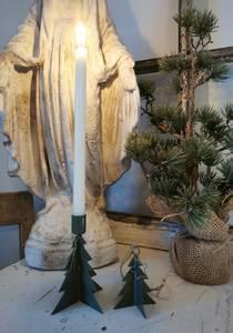 Bilde av Lysestake til kertelys, juletre