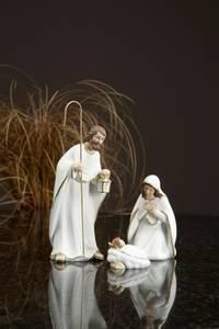 Bilde av Josef, Maria og jesusbarnet