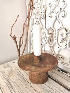 Bilde av Thomas lysestake børstet rust/grønn L