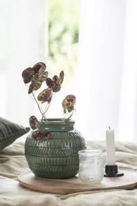 Bilde av Vase med mønster grønn